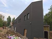 Фасад из профнастила, фото 1