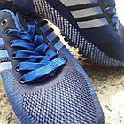 Кроссовки Bonote текстиль сетка синие р.46, фото 4