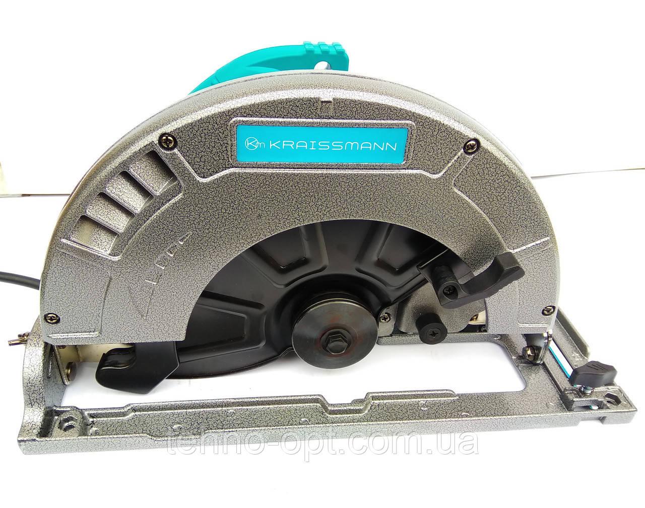 Пили дисковая KRAISSMANN 2400 Вт  KS-255 ( паркетка, циркулярка )
