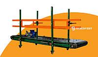 Конвейер (транспортер) для перемещения и транспортировки грузов (мешков, ящиков и т.д.)