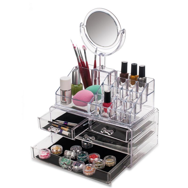Зеркала и органайзеры для косметики