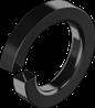 Шайба М6 пружинная (гровер)  БП DIN 7980