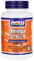 Омега / Omega 3-6-9, 1000 мг 100 капсул