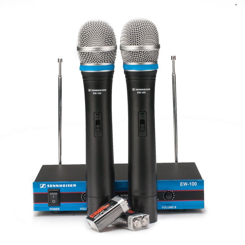 Радиосистема Sennheiser + 2 радиомикрофона