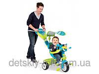 Велосипед трехколесный металлический Baby Driver Confort Sport Smoby