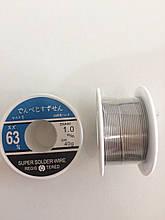 Припой 1 мм на катушке 60 гр