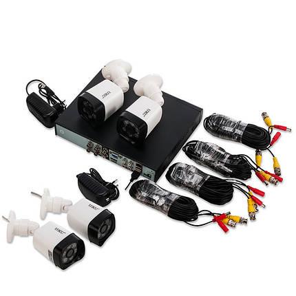 Комплект відеоспостереження Outdoor Kit 2,0 MP 4 камери, фото 2