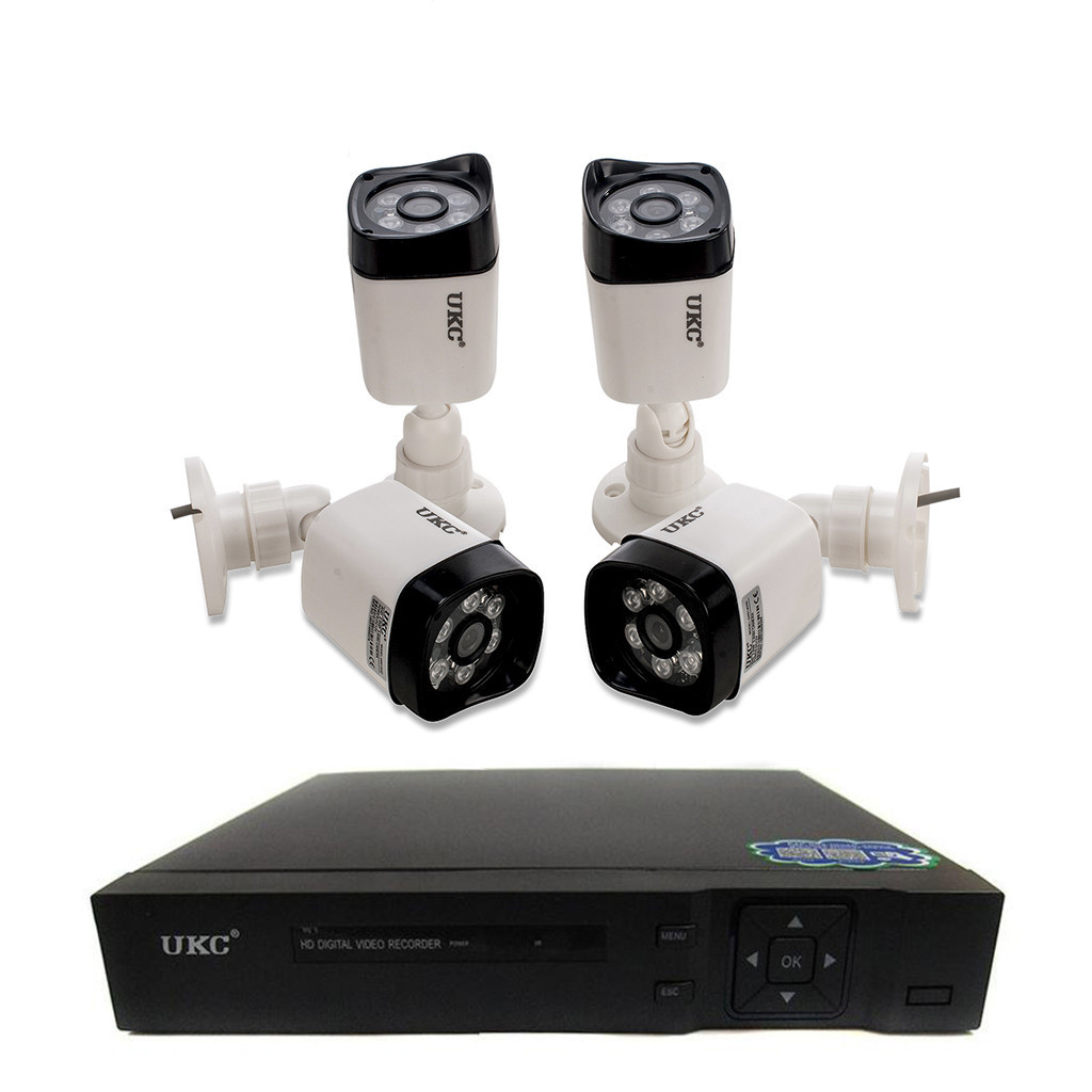 Комплект видеонаблюдения на 4 камеры Outdoor Kit 2,0MP