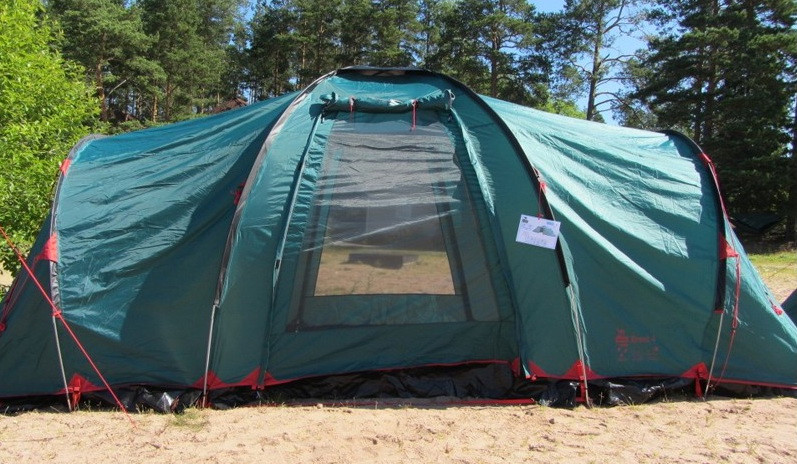 Намет Tramp Brest 6 v2.Палатка туристическая. Намет туристичний
