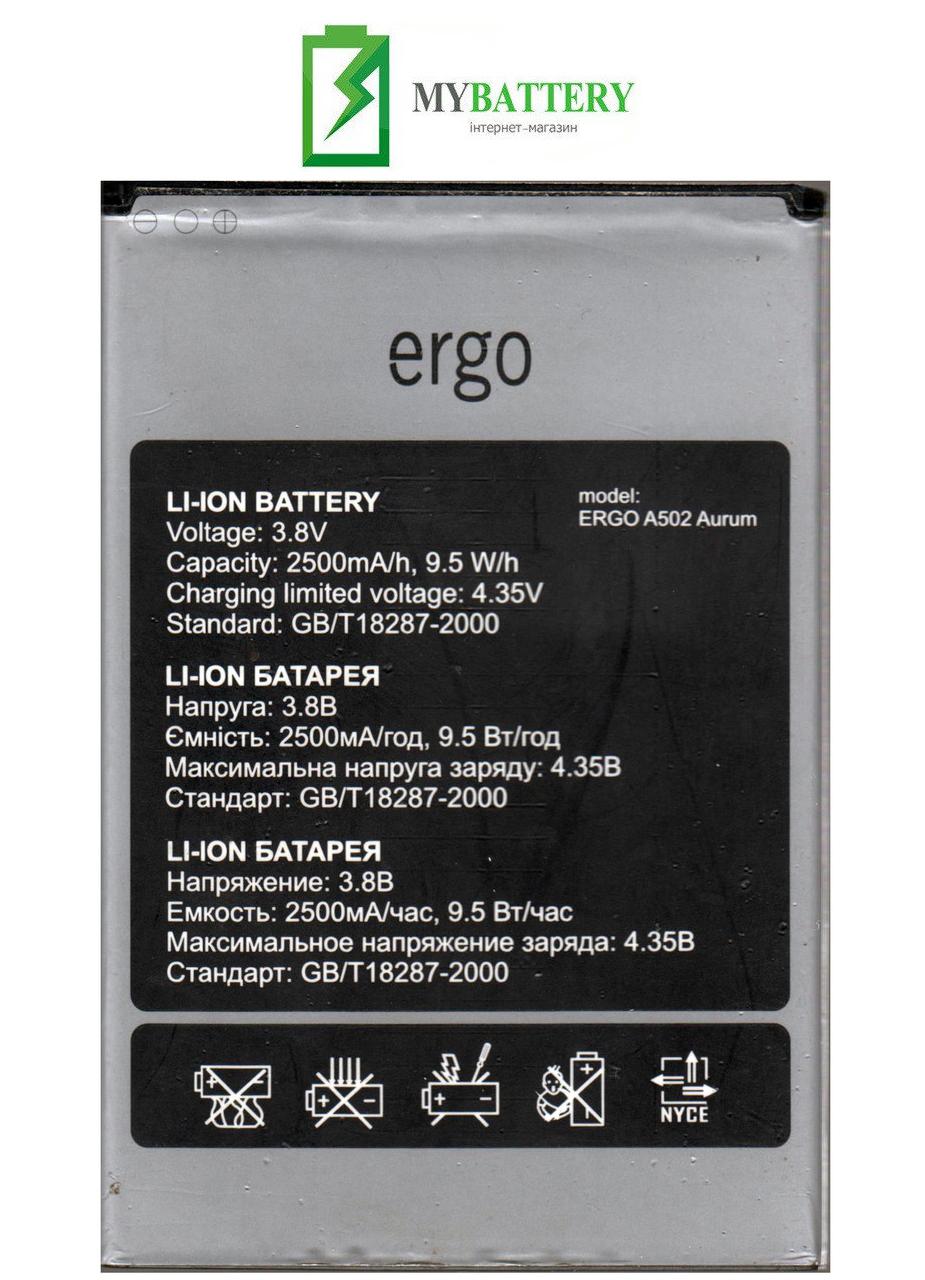 Оригинальный Аккумулятор АКБ (Батарея) для Ergo A502 Aurum 3.8V 2500mAh