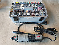 Многофункциональный инструмент гравер Forte MG 17218 в кейсе 218 насадок