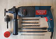 Перфоратор прямой Беларусмаш ПБЭ-1900 3 джоуля. +патрон для сверл