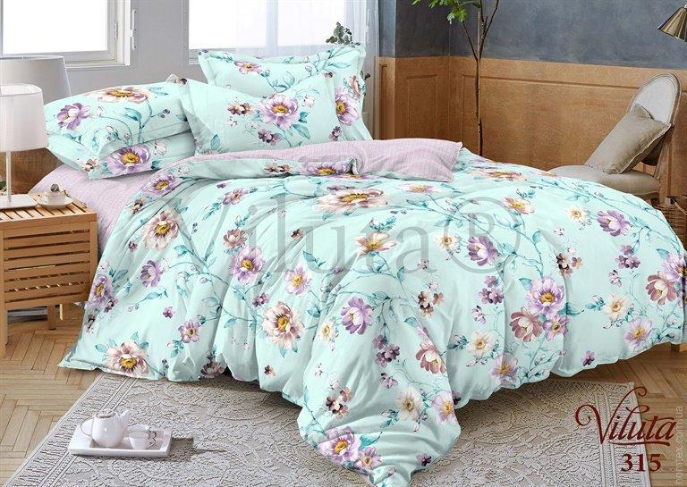Комплект постельного белья Вилюта 315 двухспальный, сатин твил