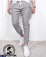 Мужские классные спортивные штаны зауженные с резинкой внизу (турецкая костюмка)