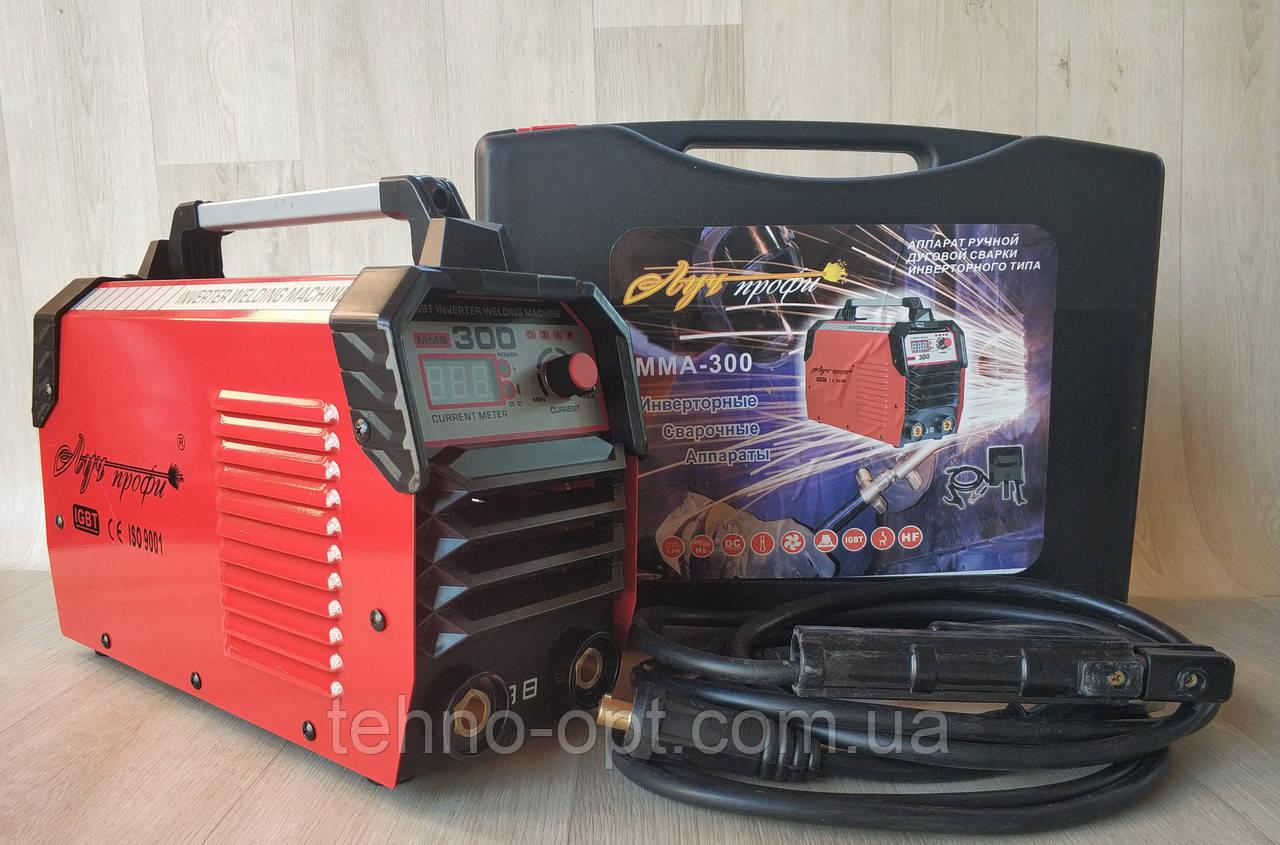Сварочный аппарат Луч Профи ММА 300 А в кейсе (сварка инверторная)