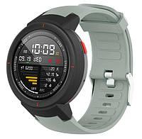 Силиконовый ремешок для часов Xiaomi Amazfit Verge (A1801/A1811) - Grey