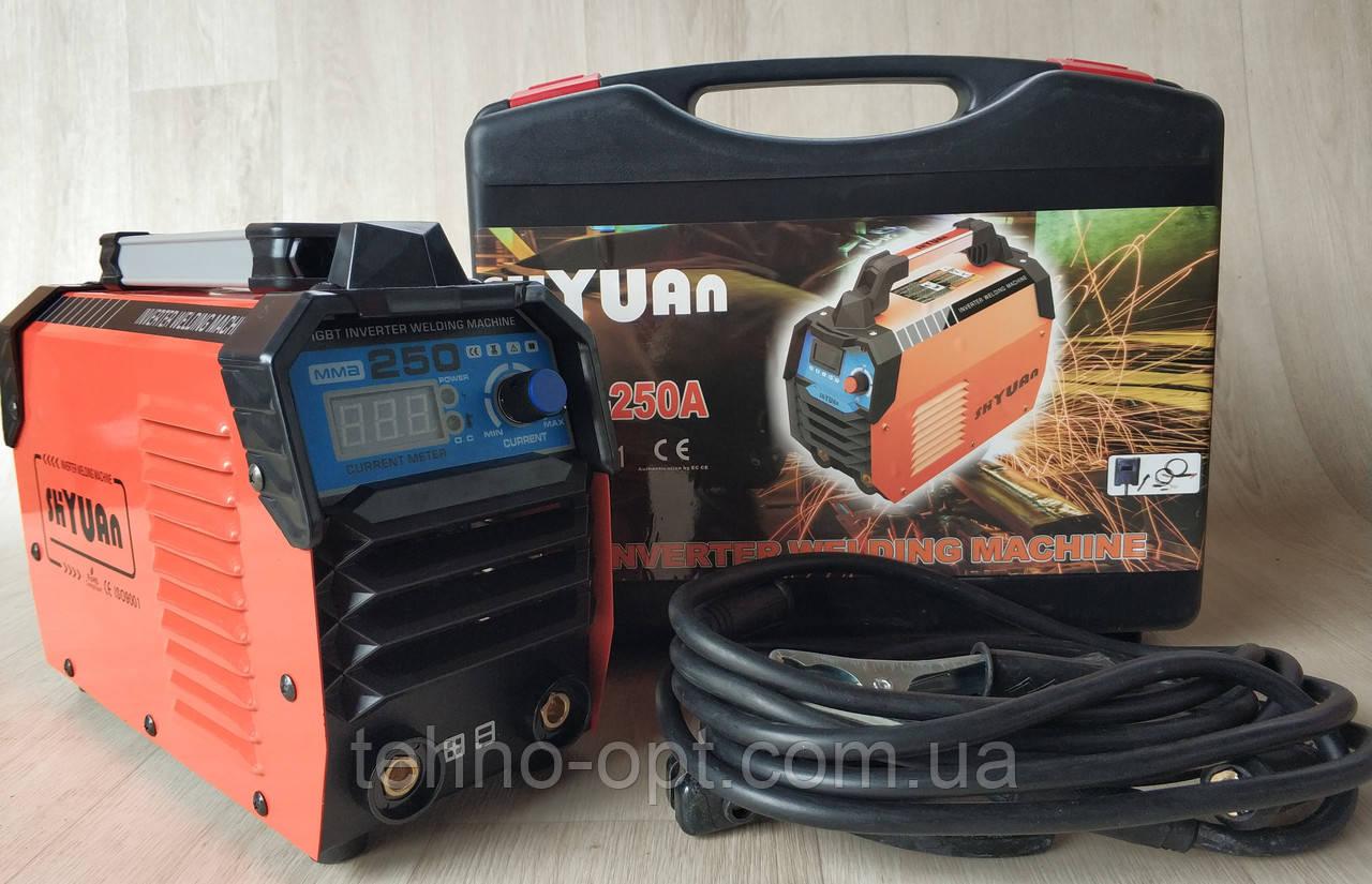 Сварочный инверторный аппарат Shyuan MMA-250A (сварка инверторная)