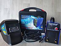 Сварка инверторная Беларусмаш БСА ММА-370 IGBT В КЕЙСЕ сварочный аппарат +Маска хамелеон Forte MC-1000, фото 1