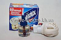 Жидкостной набор от комаров Aroxol Liquid фумигатор + жидкость без запаха 60 ночей , фото 1