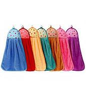 Петельки микрофибра полотенца для кухни оптом 12 шт в упаковке дешево 30х50