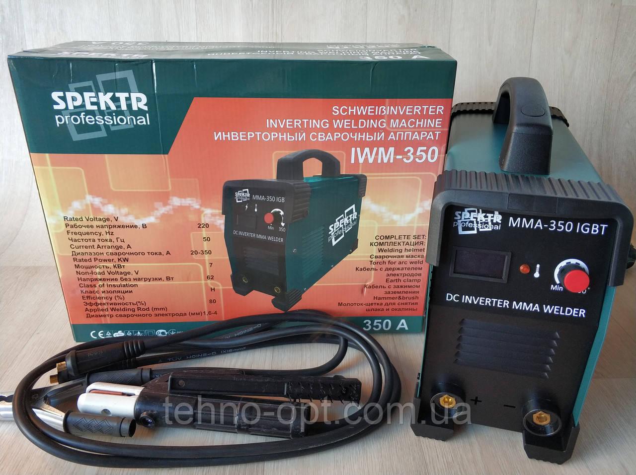 Сварочный аппарат Spektr 350 А