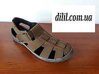 Босоножки сандалии мужские ( код 230 коричневые ), фото 1