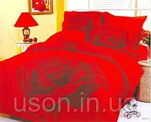 Комплект постельного белья  le vele сатин размер семейный Gullu red