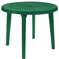 Стол пластиковый круглый 90 см