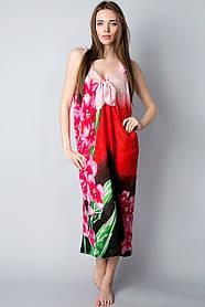 Парео - сарафан модное пляжное