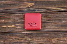 Монетница ручной работы из кожи Краст VOILE cn3-kred, фото 3