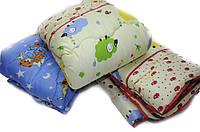 Одеяло детское в кроватку 100х140 силикон расцветки в ассортименте