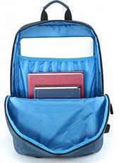 Рюкзак Mi Casual Backpack Синій/Чорний (XYXX01RM/BLUE), фото 3