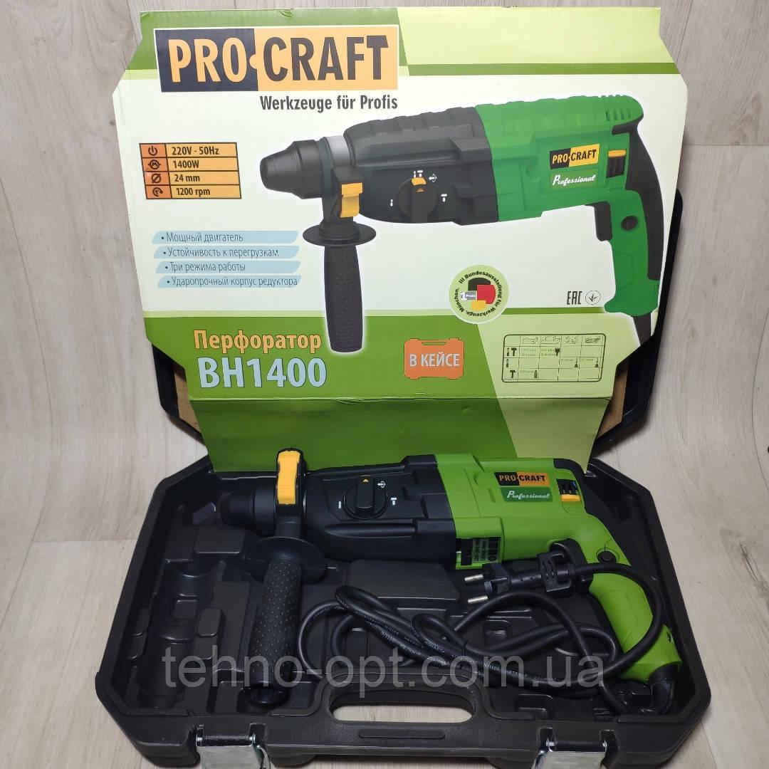 Перфоратор прямой ProCraft BH-1400