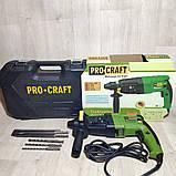 Перфоратор прямой ProCraft BH-1400, фото 2