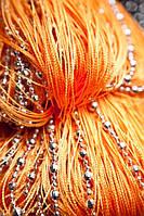 Шторы нити Диско № 3 (Оранжевый), фото 1