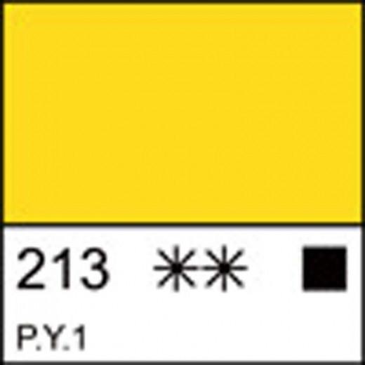 Фарба гуашева МАСТЕР-КЛАСС жовта світла  40 мл ЗХК