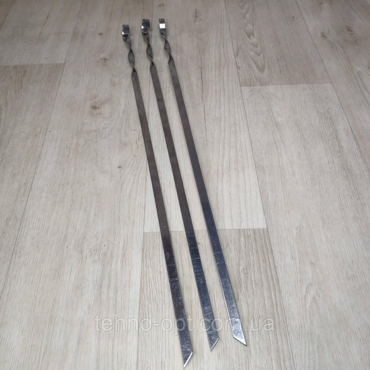 Шампура из нержавейки длина 60см толщина 2мм