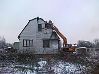 Услуги спецтехники для демонтажа