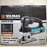Лобзик электрический Vilmas 650-JS-65 в Кейсе с подсветкой, электролобзик, фото 2