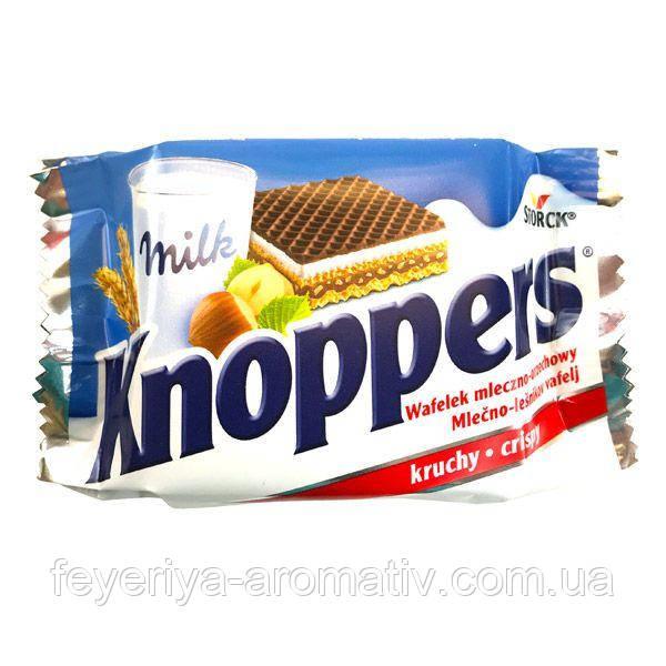 Молочно-ореховые вафли Knoppers 25гр (Германия)