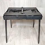 Мангал 3 мм раскладной с столиком на 7 шампуров, фото 4