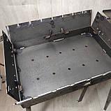 Мангал 3 мм раскладной с столиком на 7 шампуров, фото 6