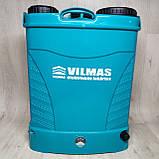 Аккумуляторный садовый опрыскиватель Vilmas 16 BS 8 Ач, фото 3