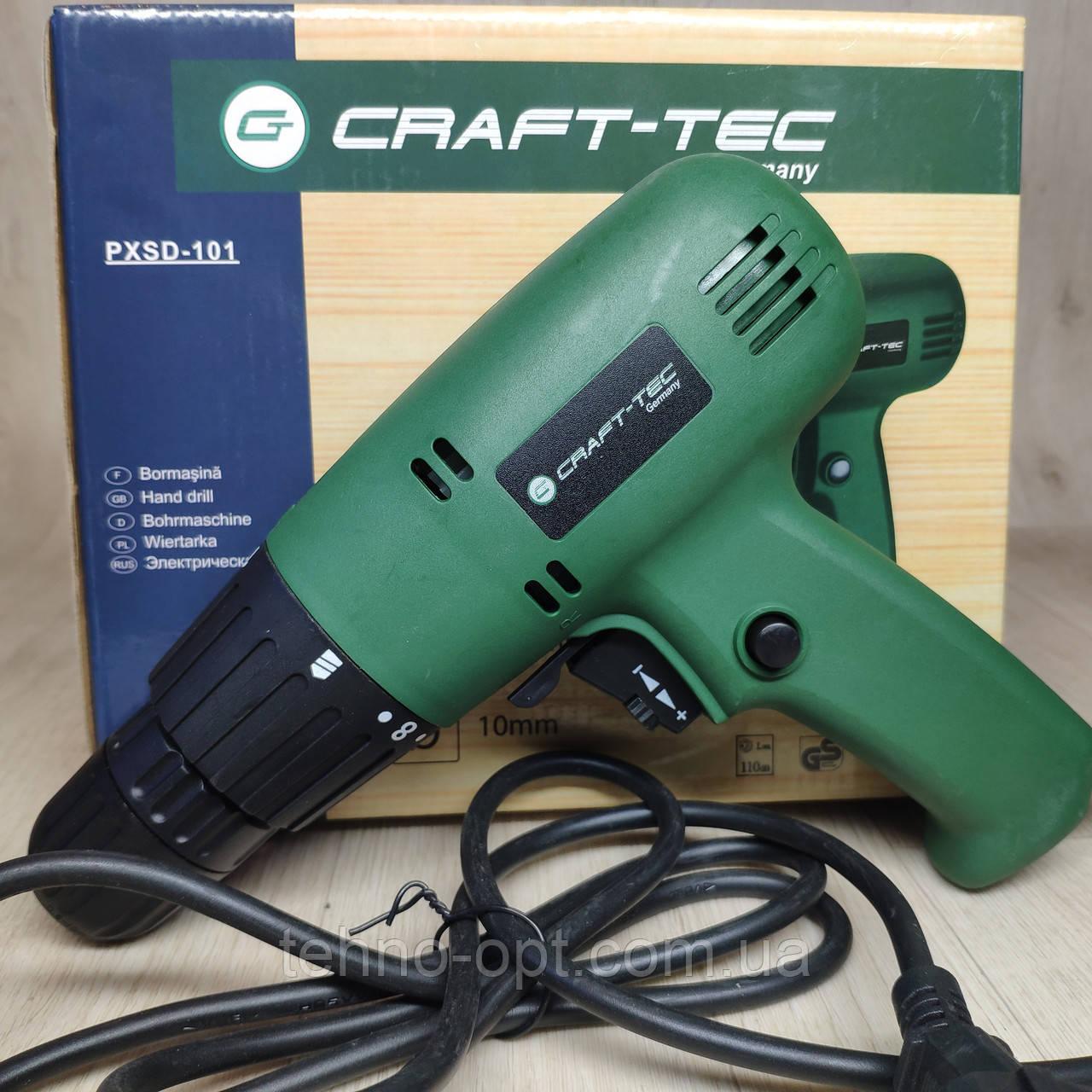 Шуруповерт сетевой Craft-tec PXSD-101, 900 W
