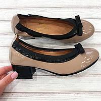 Туфли  женские лаковые кожаные Viko.