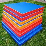 Мат спортивно-гімнастичний 100*100*9 см, фото 2