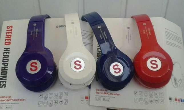 Bluetooth наушники S460S Синий да, 1, Bluetooth