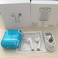 Беспроводные Bluetooth наушники iFans i9s в Кейсе c Power Bank ( Гарнитура аналог AirPods ), фото 4