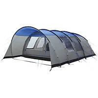 Палатка High Peak Leesburg 6 (Grey/Blue), фото 1