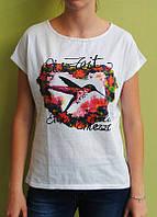 Футболка женская колибри